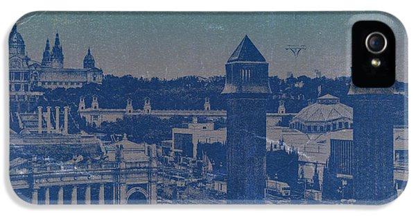 Barcelona iPhone 5s Case - Barcelona by Naxart Studio