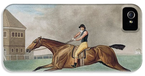 Etching iPhone 5s Case - Baronet by George Stubbs