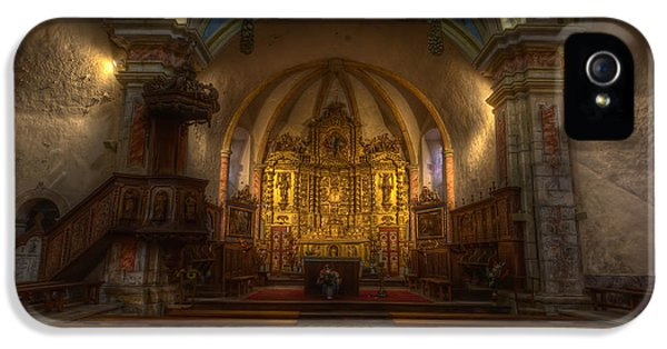 Baroque Church In Savoire France IPhone 5s Case