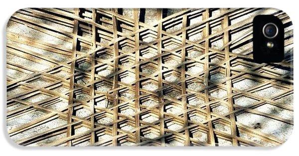 Basket Case.. Thailand #basketmaking IPhone 5s Case