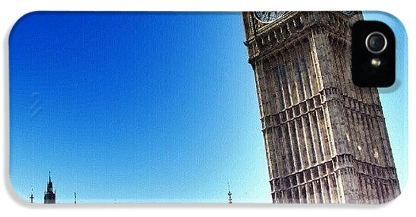 iPhone 5s Case - #bigben #uk #england #london2012 by Abdelrahman Alawwad