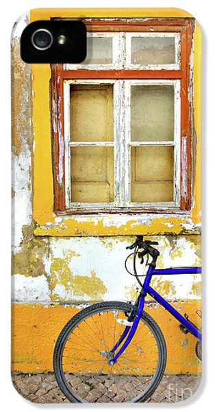 Bicycle iPhone 5s Case - Bike Window by Carlos Caetano