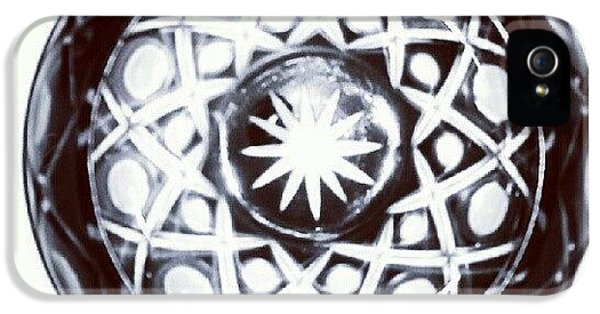 Black And White Glass Bowl. #glass IPhone 5s Case