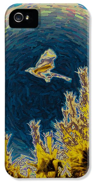 Bluejay Gone Wild IPhone 5s Case by Trish Tritz
