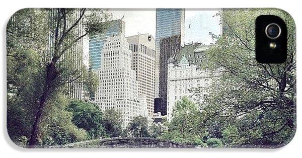 Summer iPhone 5s Case - Central Park by Randy Lemoine