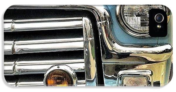Classic iPhone 5s Case - Classic Car Headlamp by Julie Gebhardt