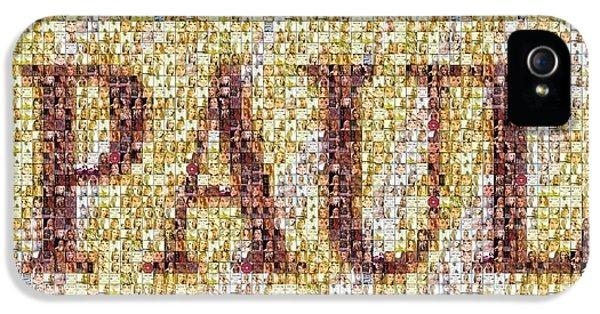 Custom Paul Mosaic Taylor Swift IPhone 5s Case by Paul Van Scott
