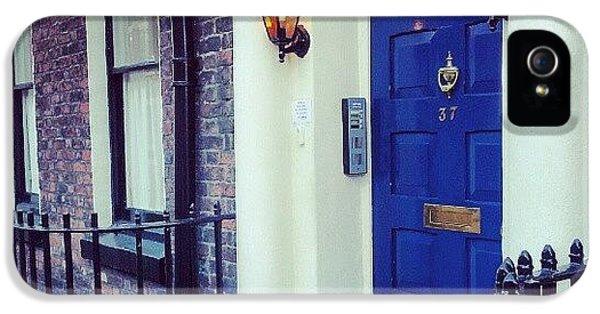 #door #house #light #liverpool #uk IPhone 5s Case