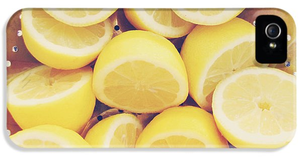 Fresh Lemons IPhone 5s Case by Amy Tyler