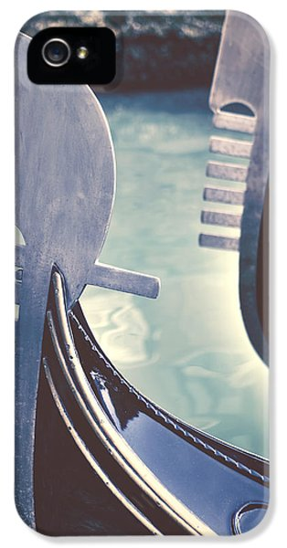 Boat iPhone 5s Case - gondolas - Venice by Joana Kruse