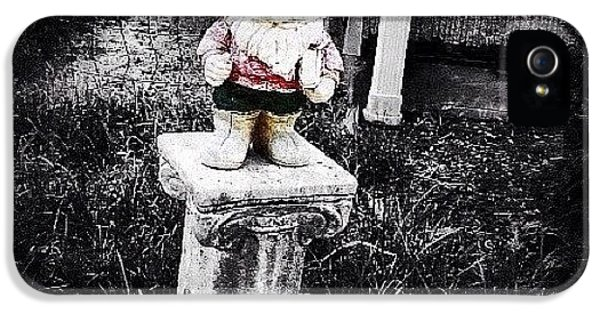 Ohio iPhone 5s Case - Greenville's Garden Gnome by Natasha Marco