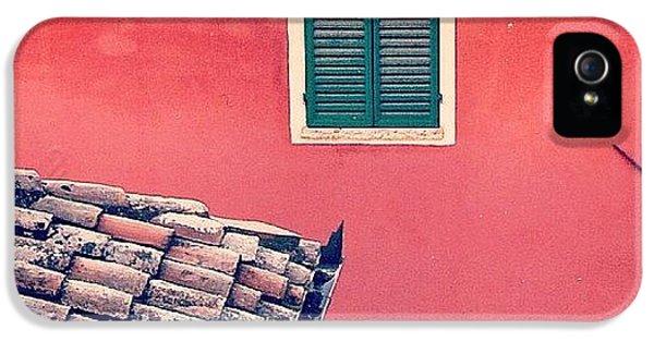 Italian Geometry #house #shutters IPhone 5s Case