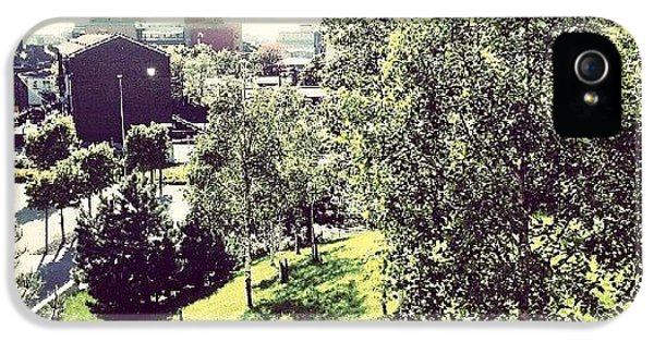 House iPhone 5s Case - #liverpool #uk #england #green #tree by Abdelrahman Alawwad