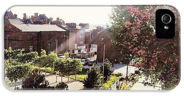 House iPhone 5s Case - #liverpool #uk #england #tree #house by Abdelrahman Alawwad