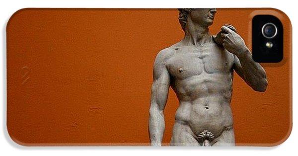 #london #david #michelangelo #sculpture IPhone 5s Case