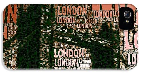 #london Just London IPhone 5s Case