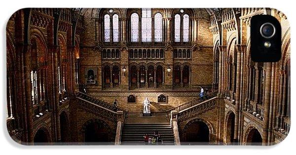 #london #nationalhistory #darwin IPhone 5s Case