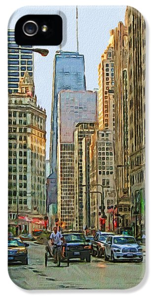 Michigan Avenue IPhone 5s Case by Vladimir Rayzman