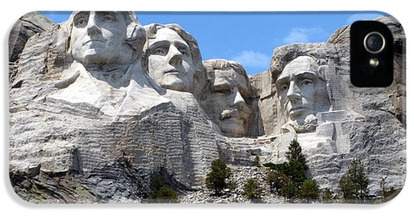 Lincoln Memorial iPhone 5s Case - Mount Rushmore Usa by Olivier Le Queinec