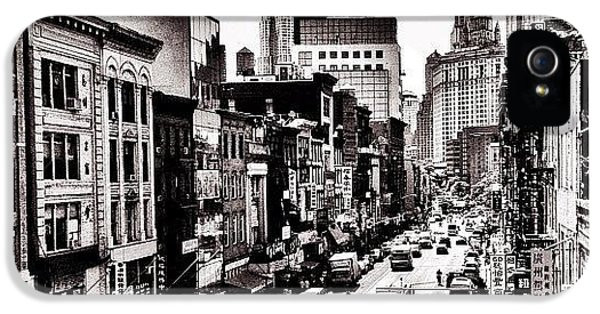 Classic iPhone 5s Case - New York City - Above Chinatown by Vivienne Gucwa