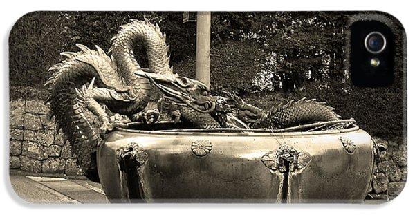 Dragon iPhone 5s Case - Nikko Fountain by Naxart Studio