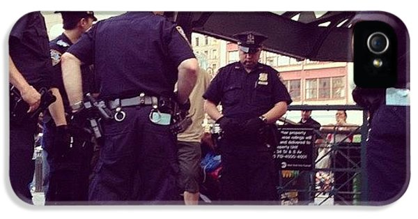 Summer iPhone 5s Case - Nypd by Randy Lemoine