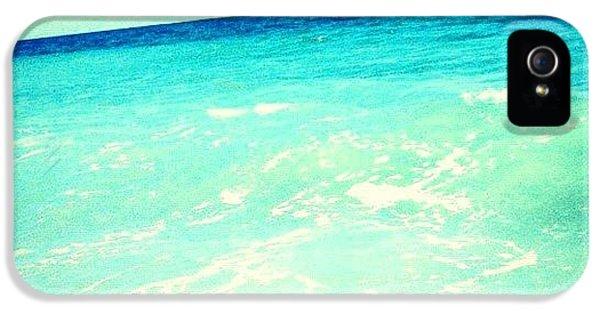 Edit iPhone 5s Case - #ocean #plain #myrtlebeach #edit #blue by Katie Williams