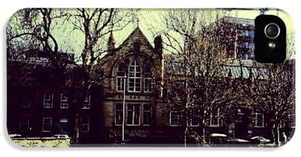 Classic iPhone 5s Case - #oxfordroad #manchester #trees by Abdelrahman Alawwad