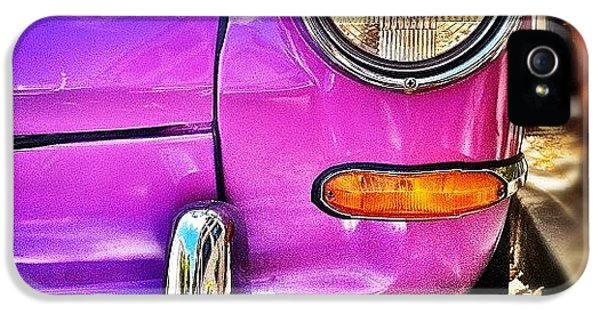 Purple Vw Bug IPhone 5s Case