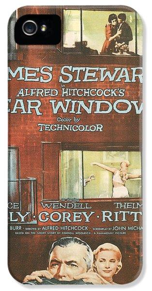 Rear Window IPhone 5s Case by Georgia Fowler