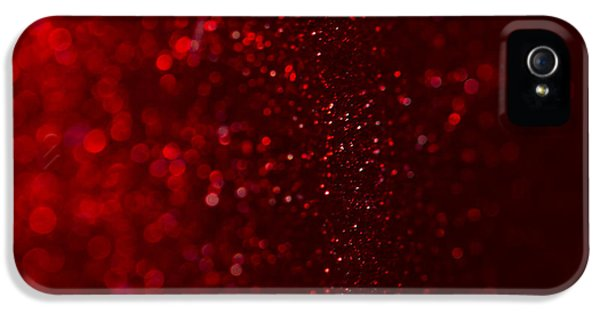 Red Sparkle IPhone 5s Case