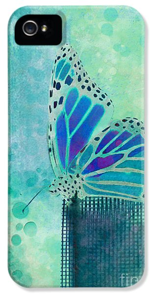 Butterfly iPhone 5s Case - Reve De Papillon - S02b by Variance Collections