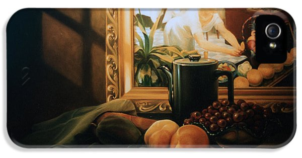 Still Life With Hopper IPhone 5s Case by Patrick Anthony Pierson