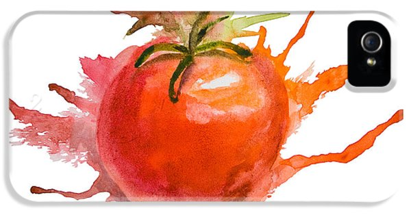 Stylized Illustration Of Tomato IPhone 5s Case