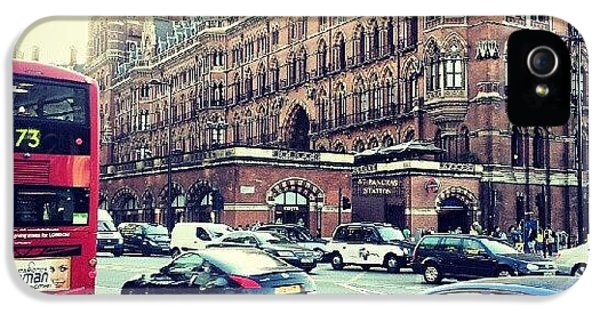Classic iPhone 5s Case - #sunset #london #buildings #classic by Abdelrahman Alawwad