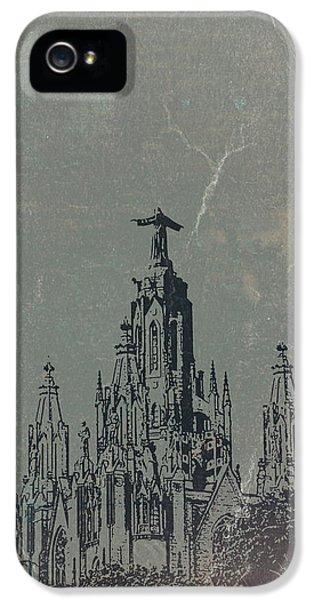 Barcelona iPhone 5s Case - Temple Expiatory by Naxart Studio