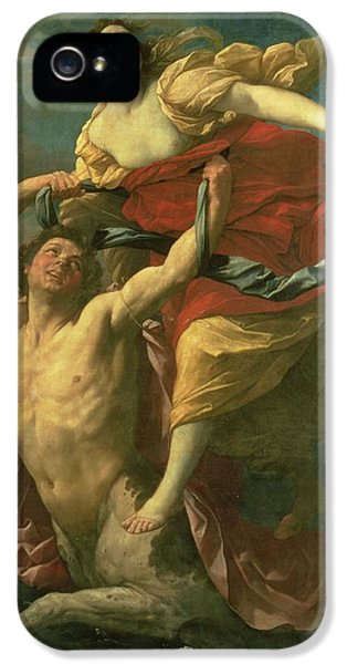 The Abduction Of Deianeira IPhone 5s Case by  Centaur Nessus