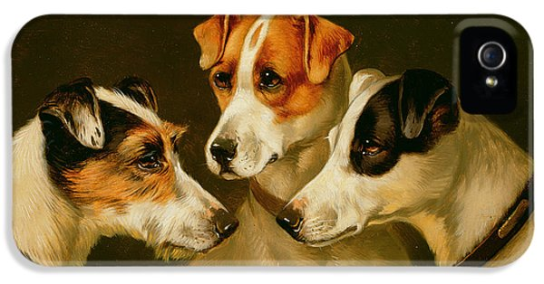 The Hounds IPhone 5s Case by Alfred Wheeler