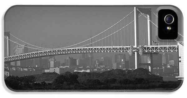 Tokyo Rainbow Bridge IPhone 5s Case by Naxart Studio