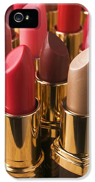 Tubes Of Lipstick IPhone 5s Case by Garry Gay
