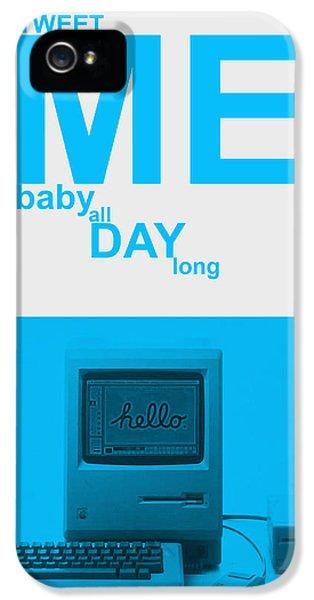 Harvard iPhone 5s Case - Tweet Me Baby All Night Long by Naxart Studio