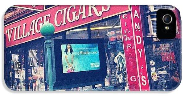 Summer iPhone 5s Case - Village Cigars by Randy Lemoine