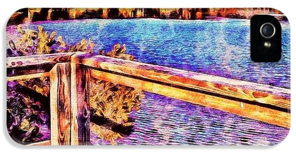 Watercolor Lake - It Would Be Good For IPhone 5s Case