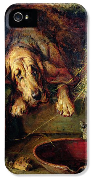 When The Cat's Away The Mice Will Play  IPhone 5s Case by Philip Eustace Stretton
