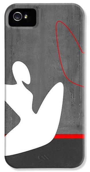 Figurative iPhone 5s Case - White Girl by Naxart Studio