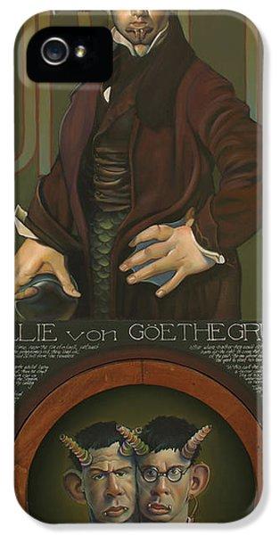 Willie Von Goethegrupf IPhone 5s Case by Patrick Anthony Pierson