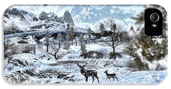 Winter Wonderland IPhone 5s Case by Lourry Legarde