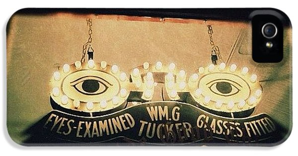 Light iPhone 5s Case - Wm.g Tucker Glasses by Natasha Marco