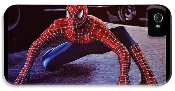 Spider iPhone 5s Case -  Spiderman 2  by Paul Meijering