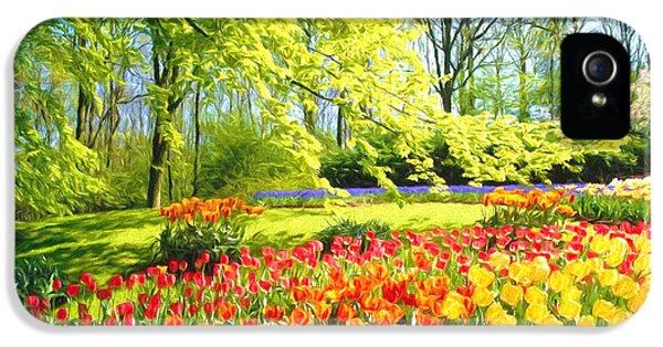 Spring Garden IPhone 5s Case